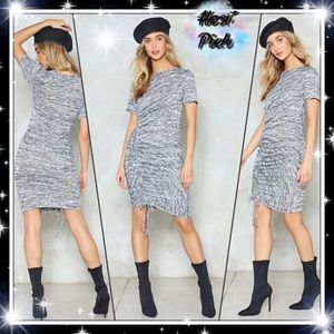 New Nasty Gal It's Do or Dye Runched Dress Sz 4